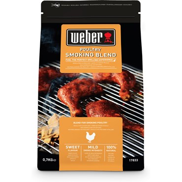 Weber Smoking Wood Chips Blend Fågel 0,7 Kg Nyhet