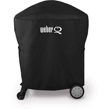 Weber Premiumöverdrag Extra Längd Q1000, Q2000, Q100 och Q200 -serien Svart Polyester Nyhet