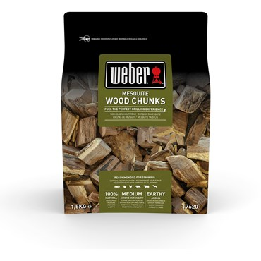 Weber Smoking Wood Chunks Mesquite