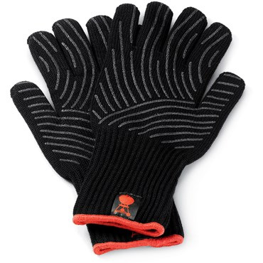 Weber Premium Handskar L/XL Svart/Red