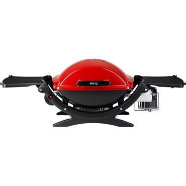 Weber Q 120 Gasolgrill Röd