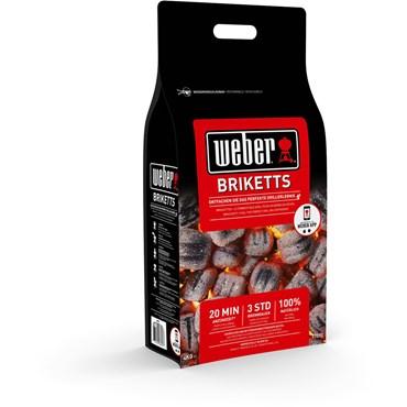 Weber Briketter 4 Kg FSC Nyhet