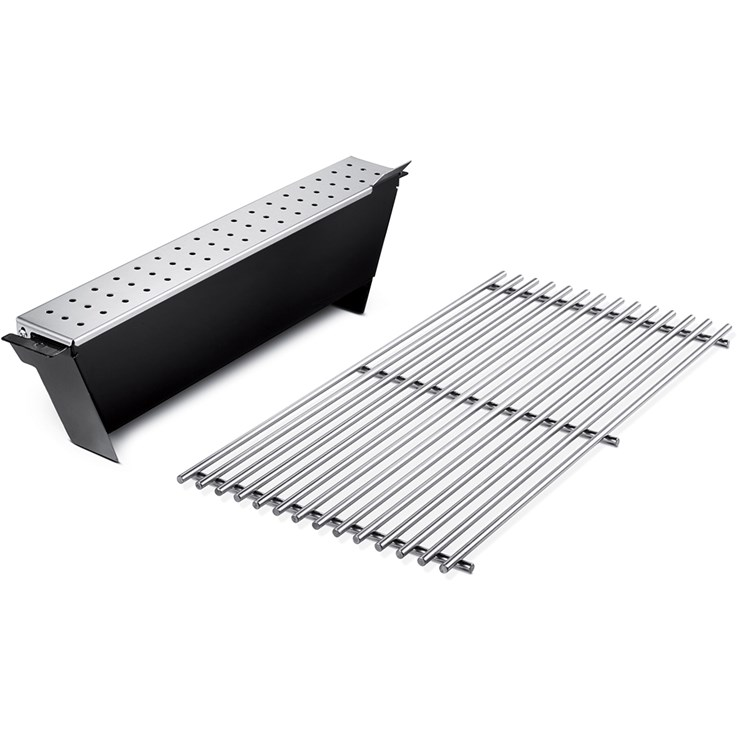 Weber Smoker kit for Genesis, 2011, stainless steel grate
