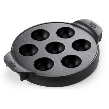 Weber Gourmet BBQ System Munkpanna Svart Gjutjärn Nyhet