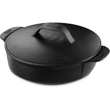 Weber Gourmet BBQ System Stekgryta Svart Gjutjärn Nyhet