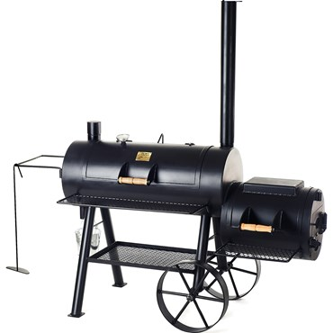 Joe´s Barbeque Smoker med Reverse Flow