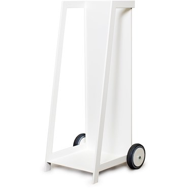Röshults Solo Storage Trolley White Vedvagn