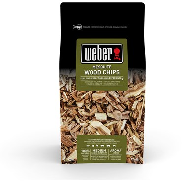 Weber Smoking Wood Chips Mesquite Nyhet