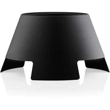 Eva Solo Lightup Ljusstake, Stor Black/ Black Ø 28 cm, H15 cm