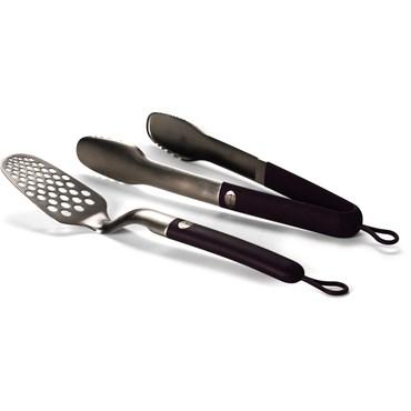 Weber Style Tools Redskapsset Tvådelat Soft Touch Plommon