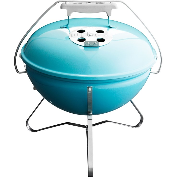 Weber Smokey Joe Gold Bärbar Grill Turkos