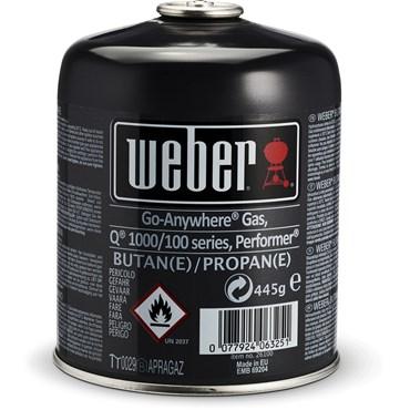 Weber Engångsgasolflaska 445 g Nyhet