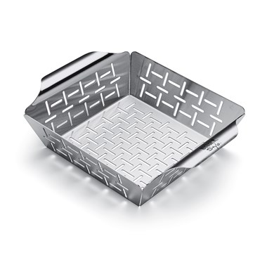 Weber Deluxe Grillform Till Grönsaker Liten Rostfritt Stål Nyhet