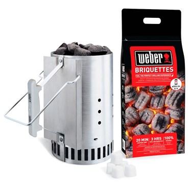 Weber Rapidfire Grillstarterkit Nyhet