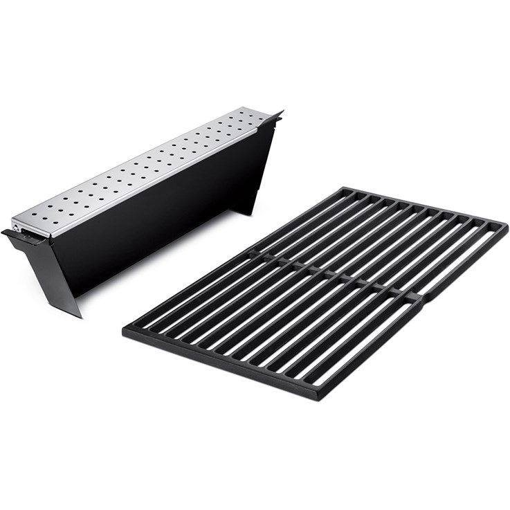 Weber Smoker kit for Genesis, 2011, cast iron grate
