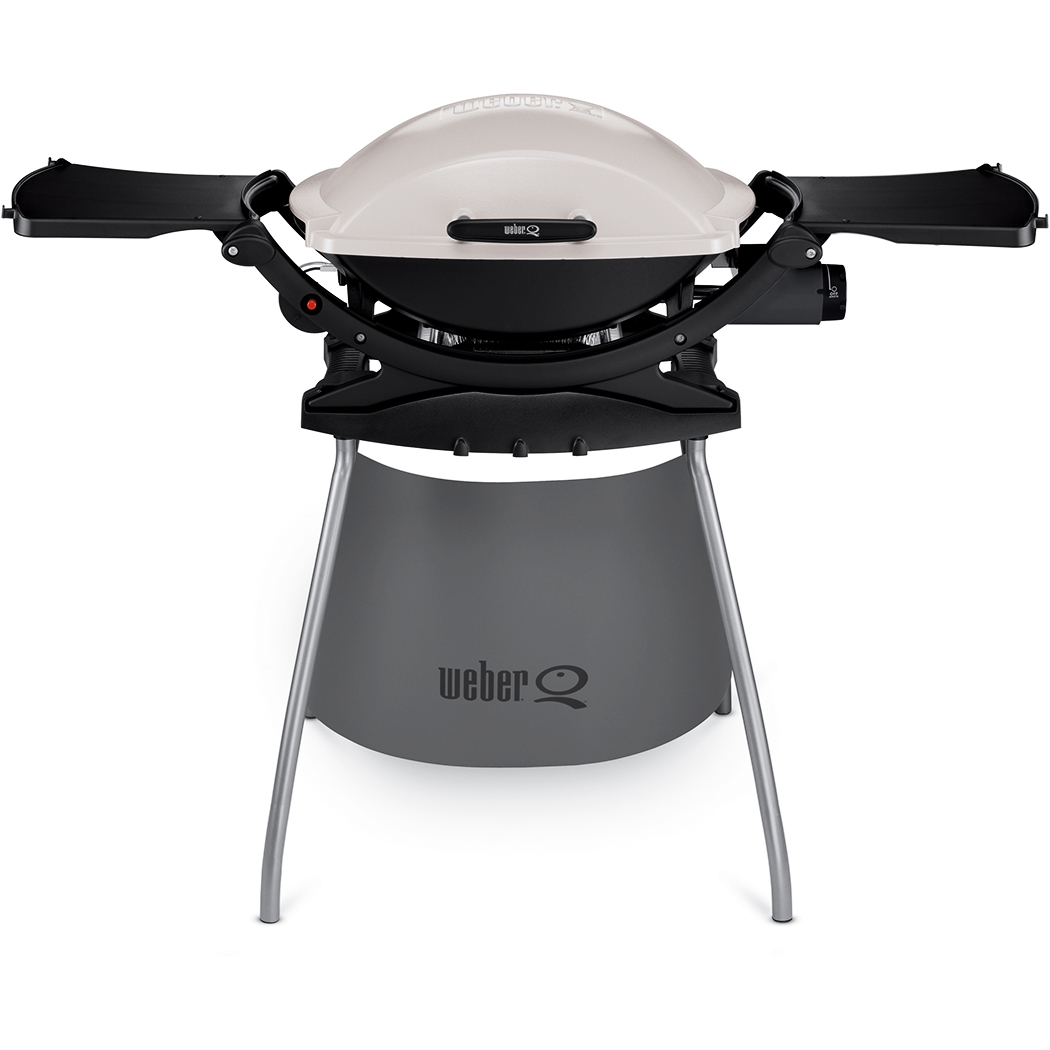 weber q 200 och stativ gasolgrill svart grillbutiken webshop. Black Bedroom Furniture Sets. Home Design Ideas