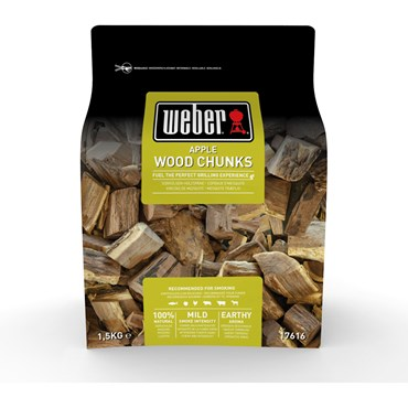 Weber Smoking Wood Chunks Äpple