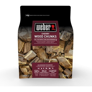 Weber Smoking Wood Chunks Körsbär