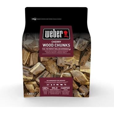 Weber Smoking Wood Chunks Körsbär Nyhet