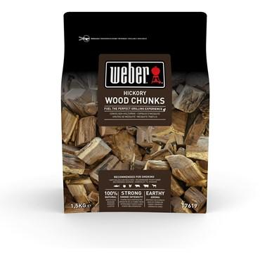Weber Smoking Wood Chunks Hickory Nyhet