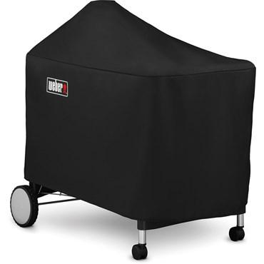 Weber Premiumöverdrag Performer Deluxe Premium Svart Polyester