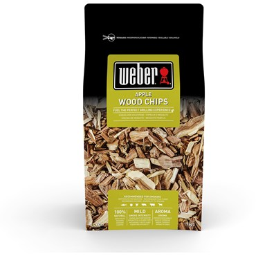 Weber Smoking Wood Chips Äpple Nyhet
