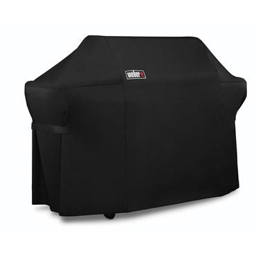 Weber Premiumöverdrag Summit 600 -serien Svart Polyester Nyhet