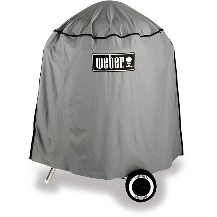 "Weber Cover, full-length vinyl, for 22.5"" charcoal grills"