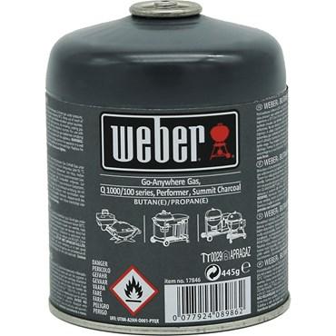 Weber Portabel Gasolflaska 445 g Nyhet