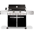 Weber Summit E 650 Gasolgrill Svart