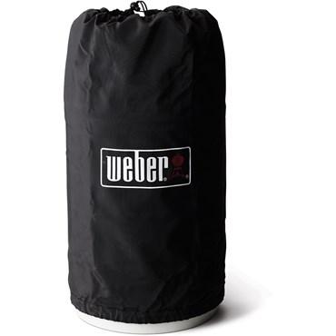 Weber Original Gasolflasköverdrag 10 Kg Svart Vinyl Nyhet